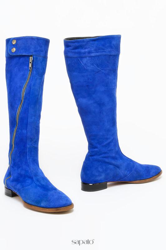 Сапоги La Imola Сапоги синие
