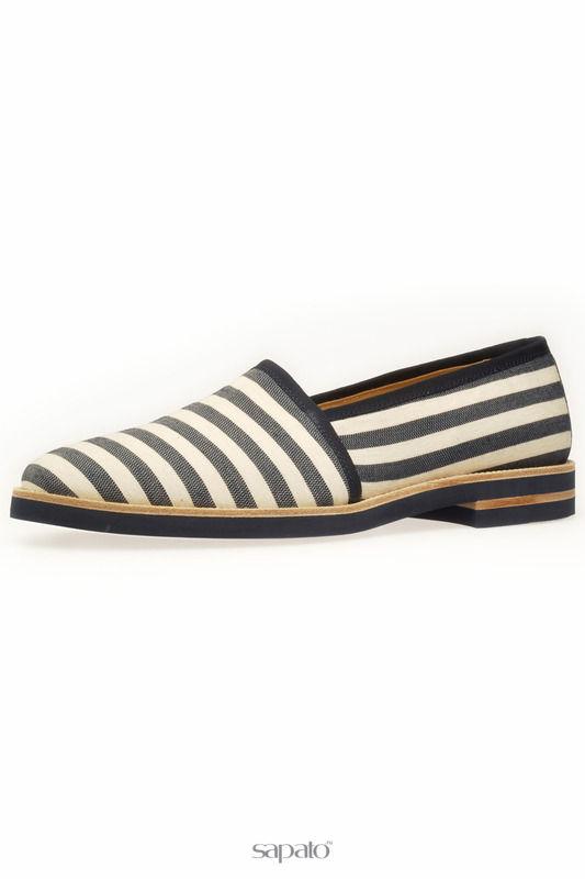Туфли BELSIRE MILANO Эспадрильи синие