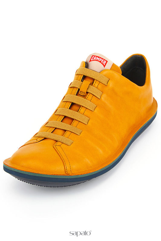 Ботинки Camper Полуботинки жёлтые