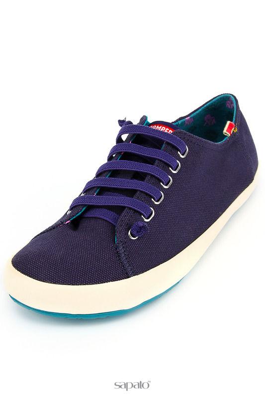 Ботинки Camper Полуботинки синие