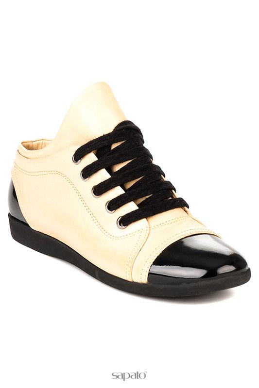 Ботинки Bambi Туфли чёрные