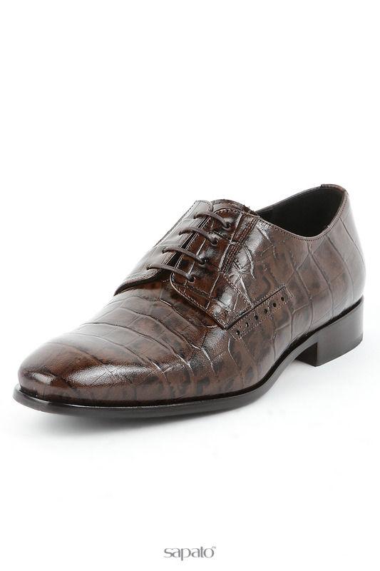 Туфли Michel Ботинки коричневые