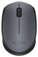 Logitech M171 Wireless Mouse Grey-Black USB