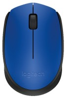Logitech M171 Wireless Mouse Blue-Black USB