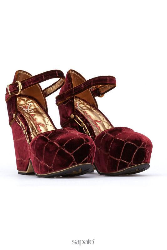 Босоножки Fabi mon amour Босоножки на каблуках красные