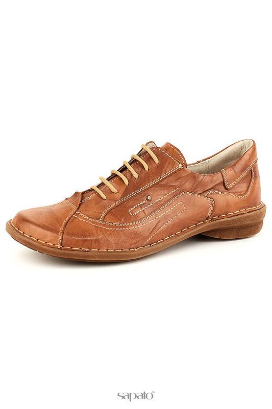 Ботинки Daniel Полуботинки коричневые
