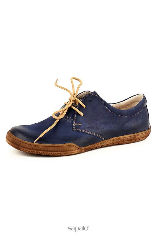 Ботинки Daniel Полуботинки синие