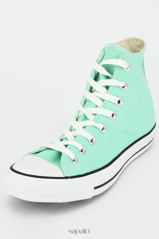 Кеды Converse Полуботинки кроссовые зеленые
