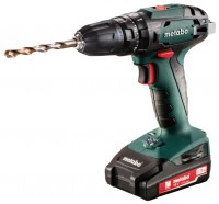 Metabo SB 18 1.3Ah x2 Case