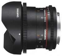 Samyang 8mm T3.8 AS IF UMC Fish-eye CS II VDSLR Canon M