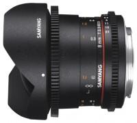Samyang 8mm T3.8 AS IF UMC Fish-eye CS II VDSLR Fujifilm X