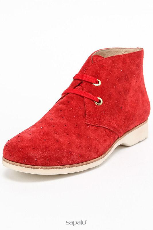 Ботинки Vasconte Закрытые туфли красные