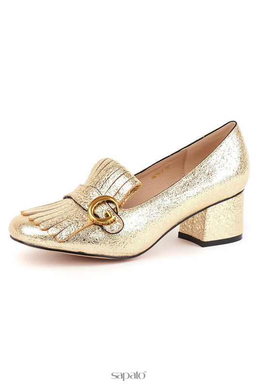 Туфли Grand Style Туфли золотистые