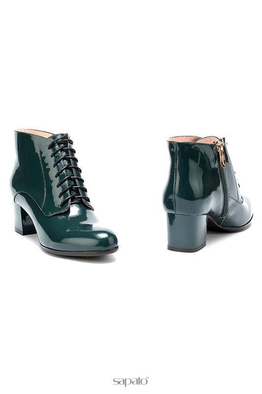 Ботинки Carlabei Ботинки зеленые