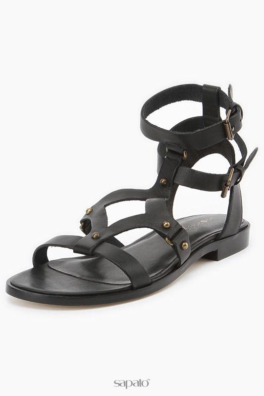 Сандалии PROPAGANDA Туфли летние открытые чёрные