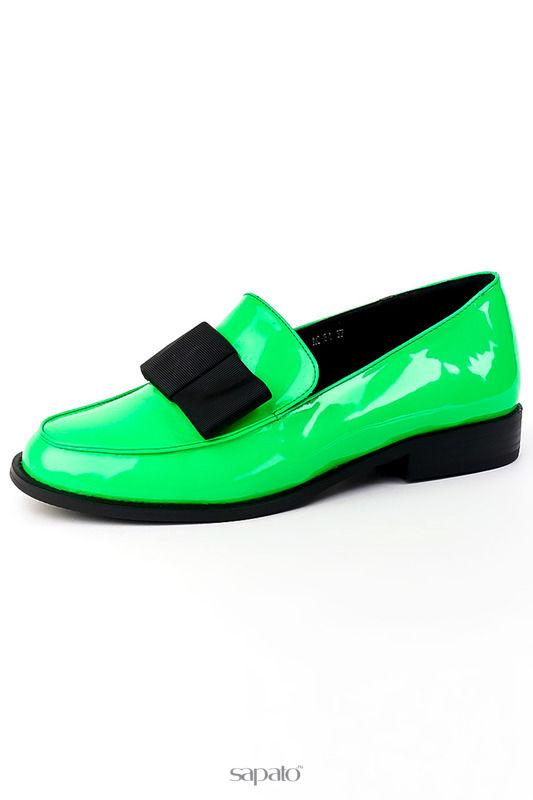 Туфли Brocoli Туфли зеленые