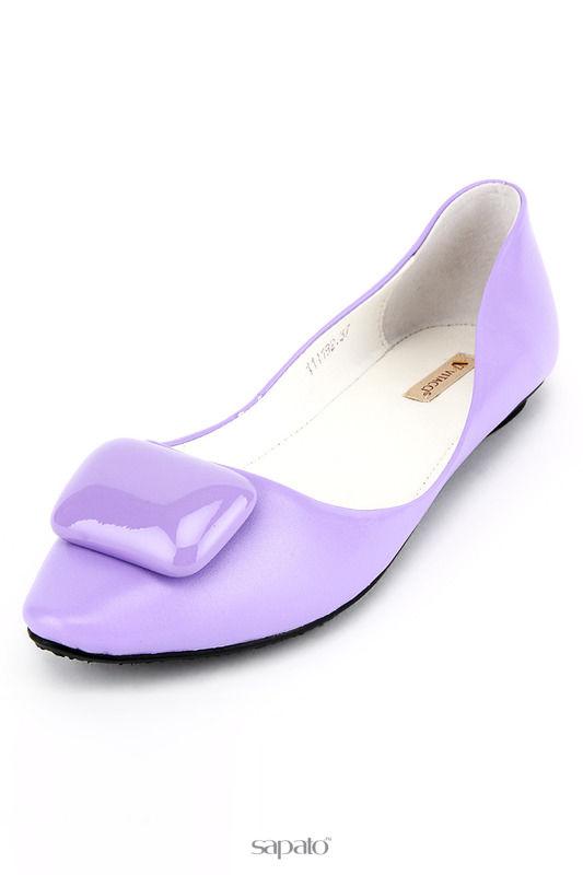 Балетки Vitacci Балетки фиолетовые