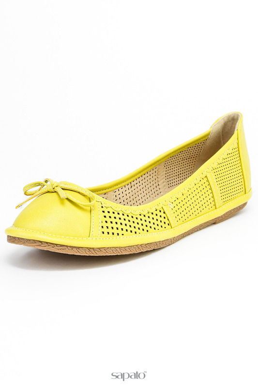 Балетки Wilmar Балетки жёлтые
