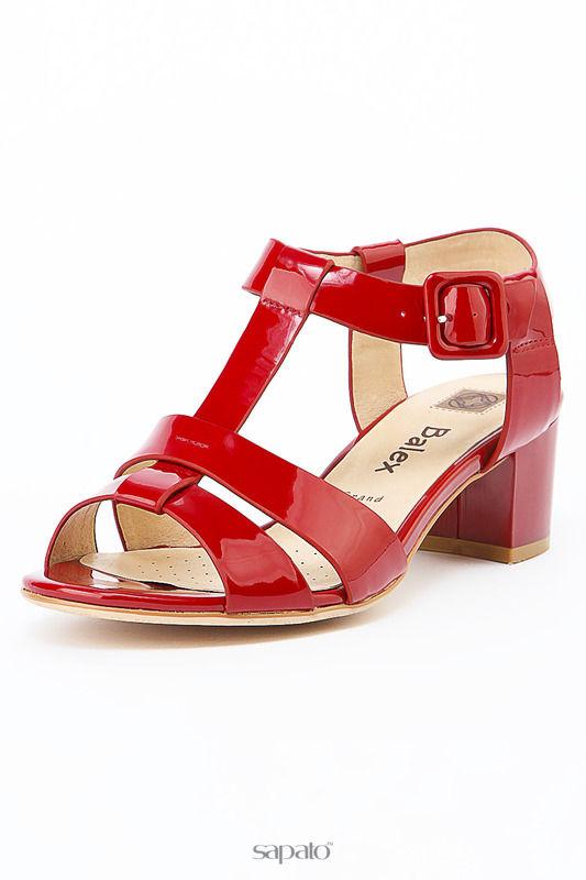 Босоножки BALEX GRAND Туфли красные