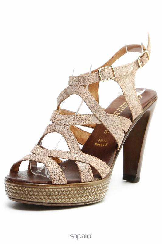 Босоножки PRATIVERDI Туфли золотистые