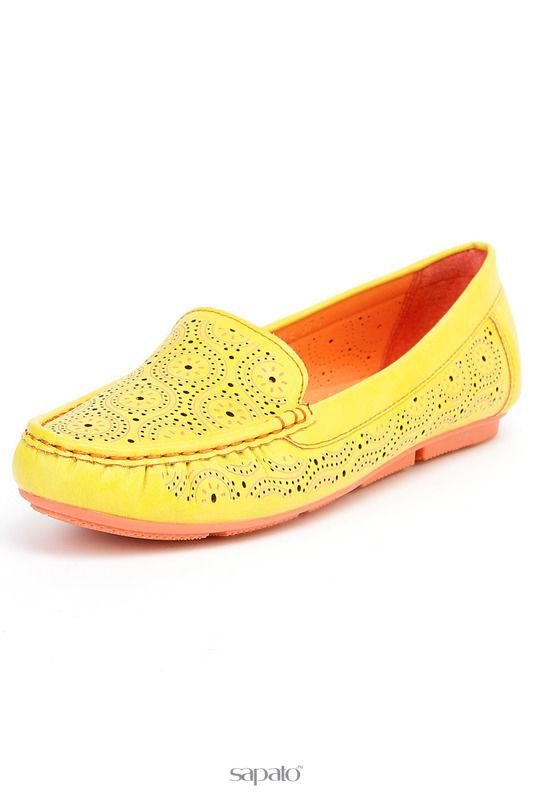 Мокасины Wilmar Туфли жёлтые