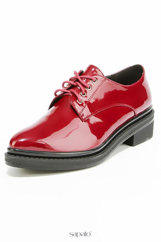 Ботинки Evita Полуботинки красные