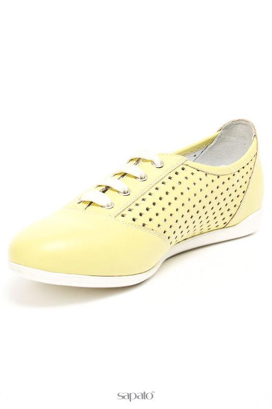 Ботинки Ralf Ringer Полуботинки жёлтые