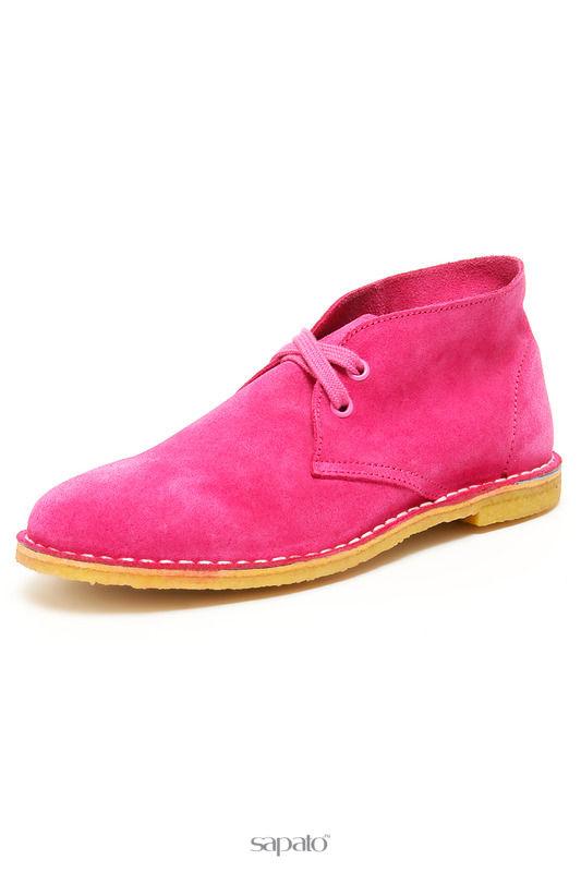 Ботинки El Tempo Полуботинки розовые