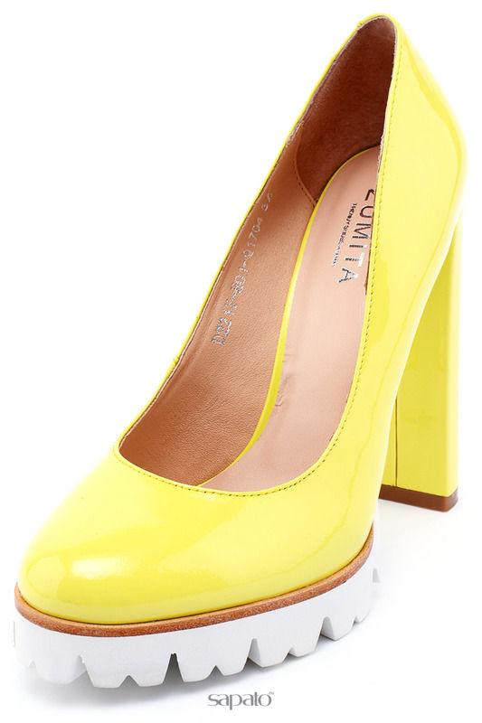 Туфли Zumita Туфли жёлтые