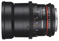 Samyang 35mm T1.5 ED AS UMC VDSLR II Pentax K