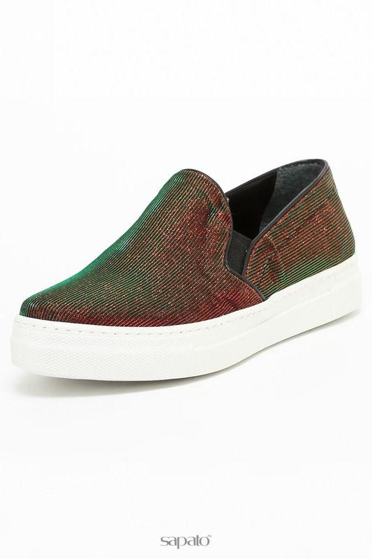 Туфли Tucino Слипоны красные