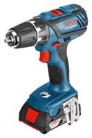 Bosch GSR 18-2-LI Plus 2.0Ah x2 Case