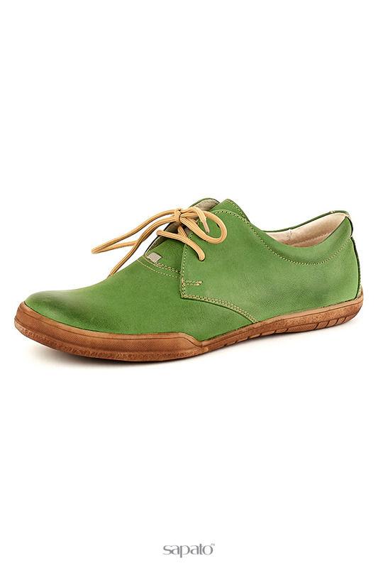 Ботинки Daniel Полуботинки зеленые