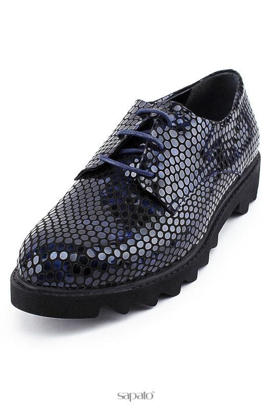 Ботинки GOIDPIAY Туфли синие