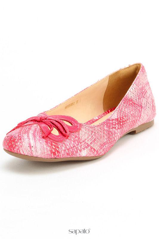 Балетки VIA VARTE Туфли розовые