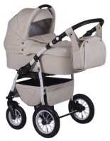 Baby-Merc Q7 White Parasolka Eco (3 в 1)