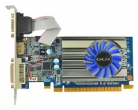 GALAX GeForce GT 710 954Mhz PCI-E 2.0 2048Mb 1600Mhz 64 bit DVI HDMI HDCP
