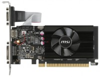 MSI GeForce GT 710 954Mhz PCI-E 2.0 2048Mb 1600Mhz 64 bit DVI HDMI HDCP Low Profile