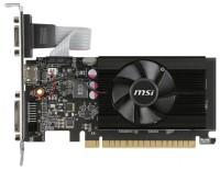 MSI GeForce GT 710 954Mhz PCI-E 2.0 1024Mb 1600Mhz 64 bit DVI HDMI HDCP Low Profile