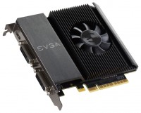EVGA GeForce GT 710 954Mhz PCI-E 2.0 2048Mb 1800Mhz 64 bit 2xDVI Mini-HDMI HDCP