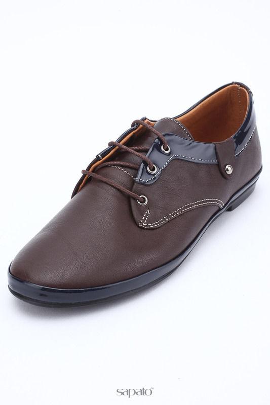 Ботинки Trenndy Полуботинки коричневые