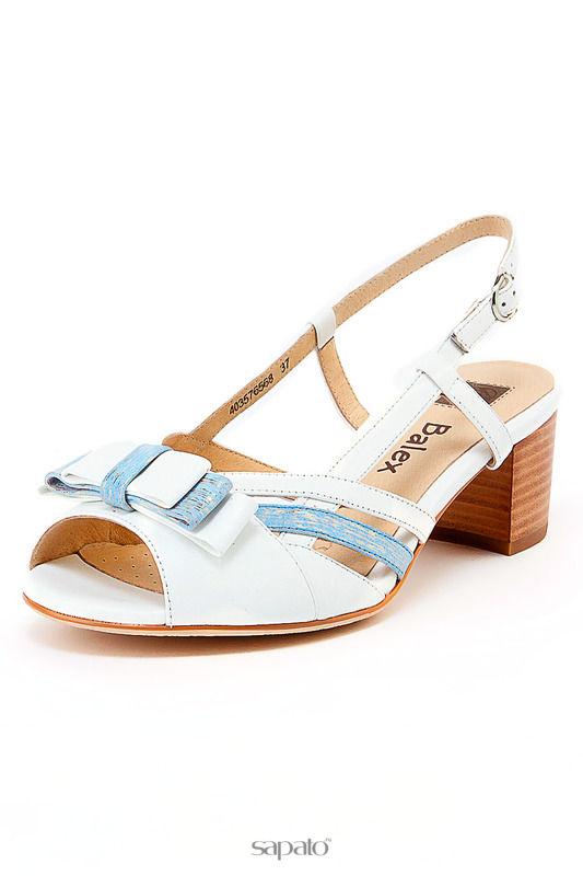 Босоножки BALEX GRAND Туфли белые