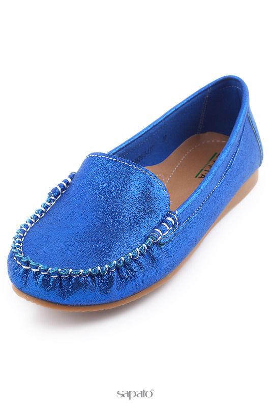 Мокасины Evita Мокасины голубые