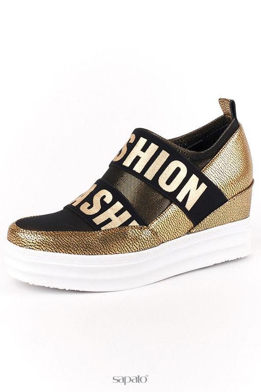Ботинки ELSI Ботинки золотистые