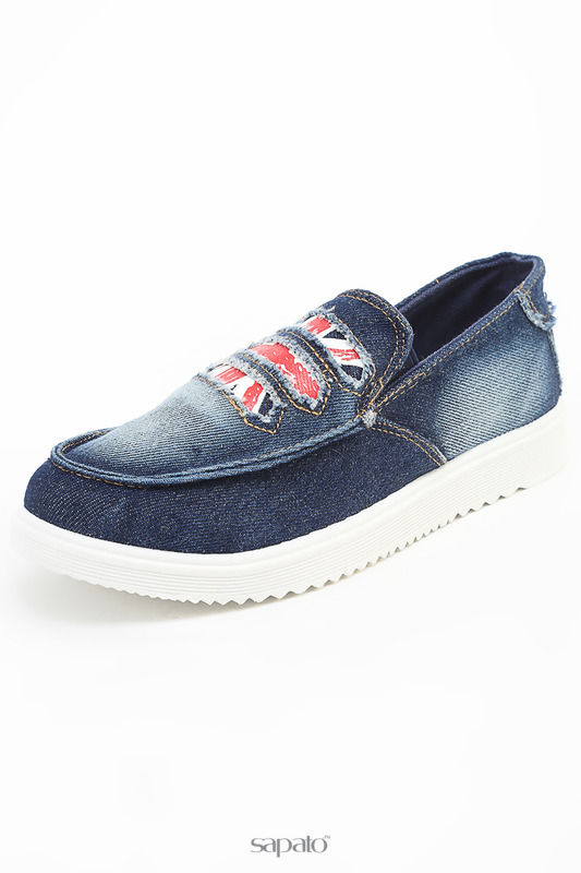 Ботинки Daze Полуботинки синие