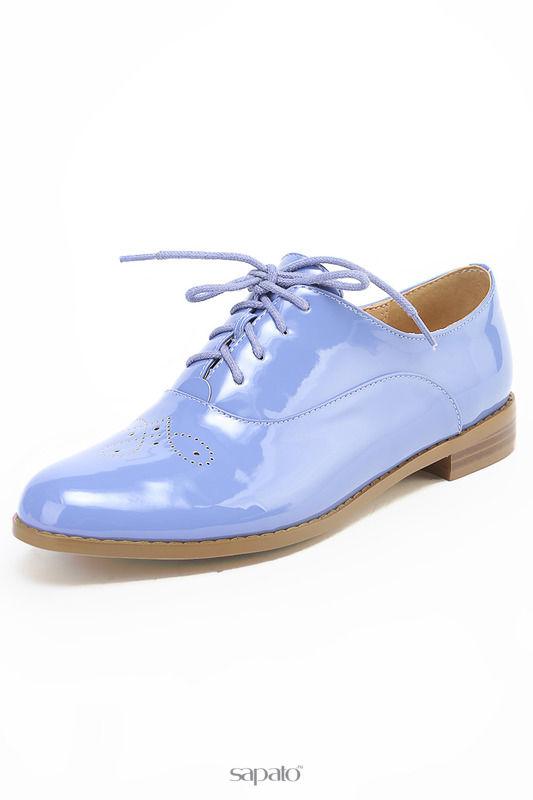 Ботинки Daze Полуботинки фиолетовые