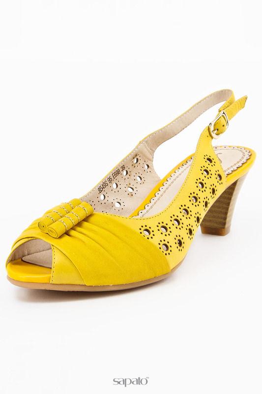 Босоножки AMATO Босоножки жёлтые