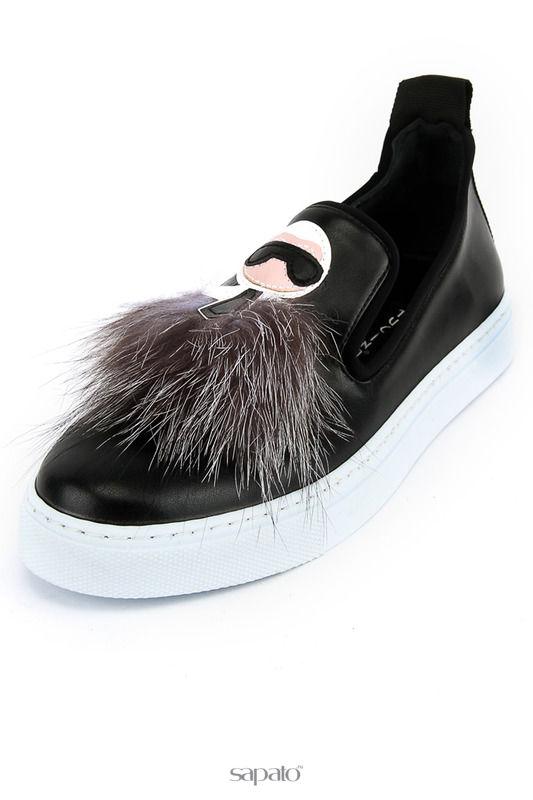Туфли Tucino Лоферы чёрные