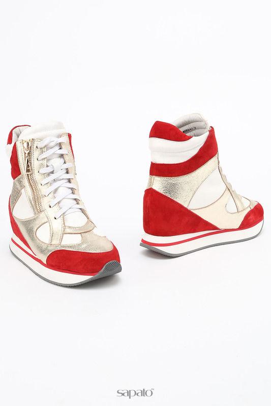 Ботинки ENISSE Ботинки золотистые