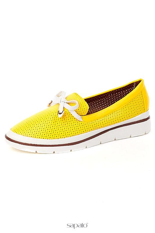 Туфли Norka Туфли жёлтые